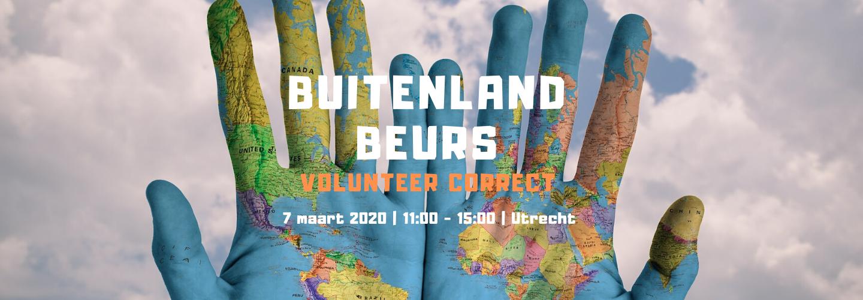 vrijwilligerswerk buitenland, buitenlandbeurs Vereniging Volunteer Correct, 7 maart 2020 in Utrecht